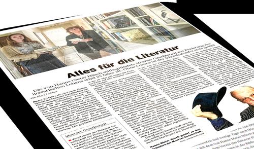 Presseartikel vom 09.05.2021 Moerser Gesellschaft