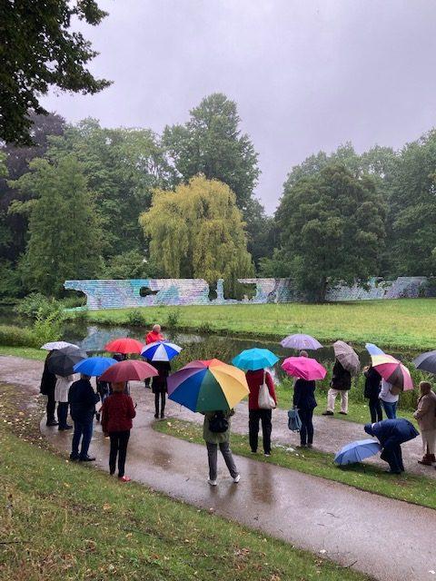 Moerser Gesellschaft - Literrarischer Spaziergang durch den Schlosspark